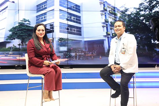 Talk Show Kesehatan Batu Saluran Kemih di SBO TV
