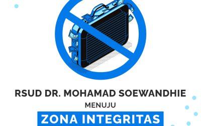 RSUD dr. Mohamad Soewandhie menuju Zona Integritas