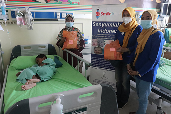 Operasi Bibir Sumbing Bersama Yayasan Surabaya CLP Foundation
